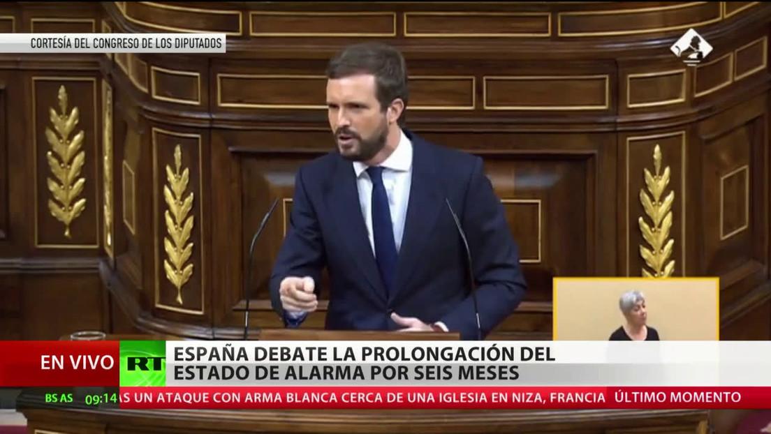 España debate la ampliación del estado de alarma por seis meses