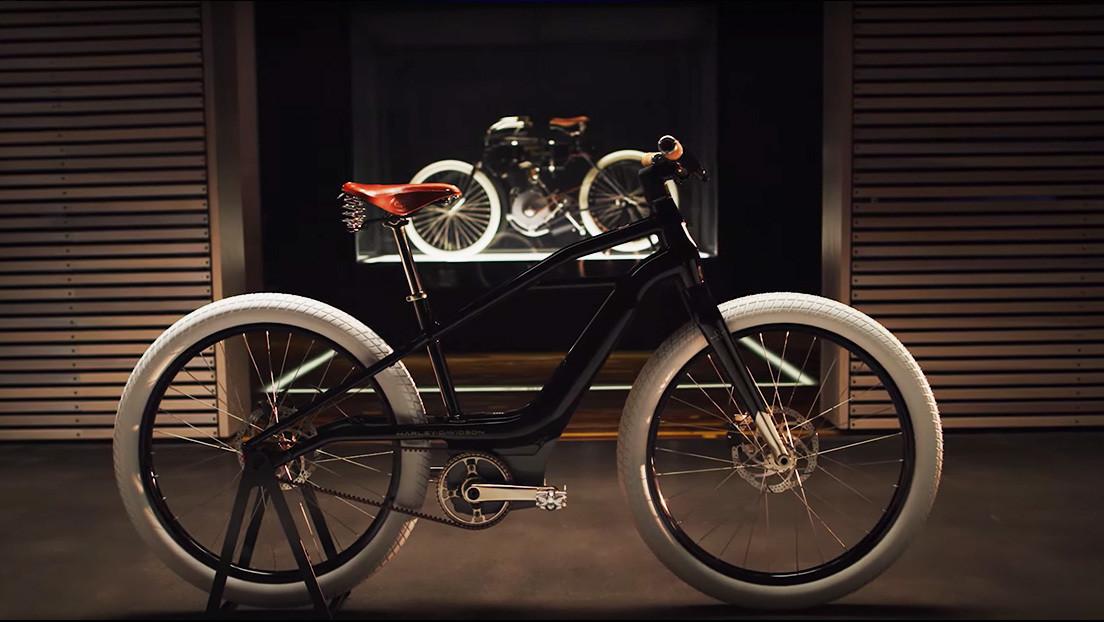 Harley-Davidson presenta su primera bicicleta eléctrica, similar a una de sus clásicas motocicletas (VIDEO, FOTOS)