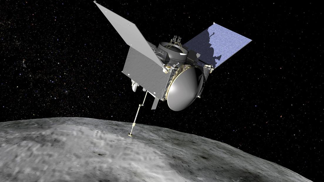 La NASA informa que su sonda ha logrado encapsular muestras del asteroide Bennu