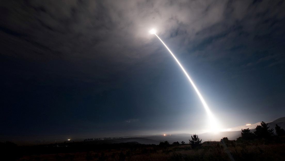 VIDEO: EE.UU. prueba con éxito un misil balístico Minuteman III