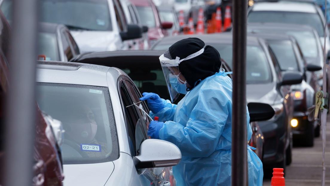 EE.UU. registra un nuevo récord de contagios diarios por covid-19, con 91.295 casos en la última jornada