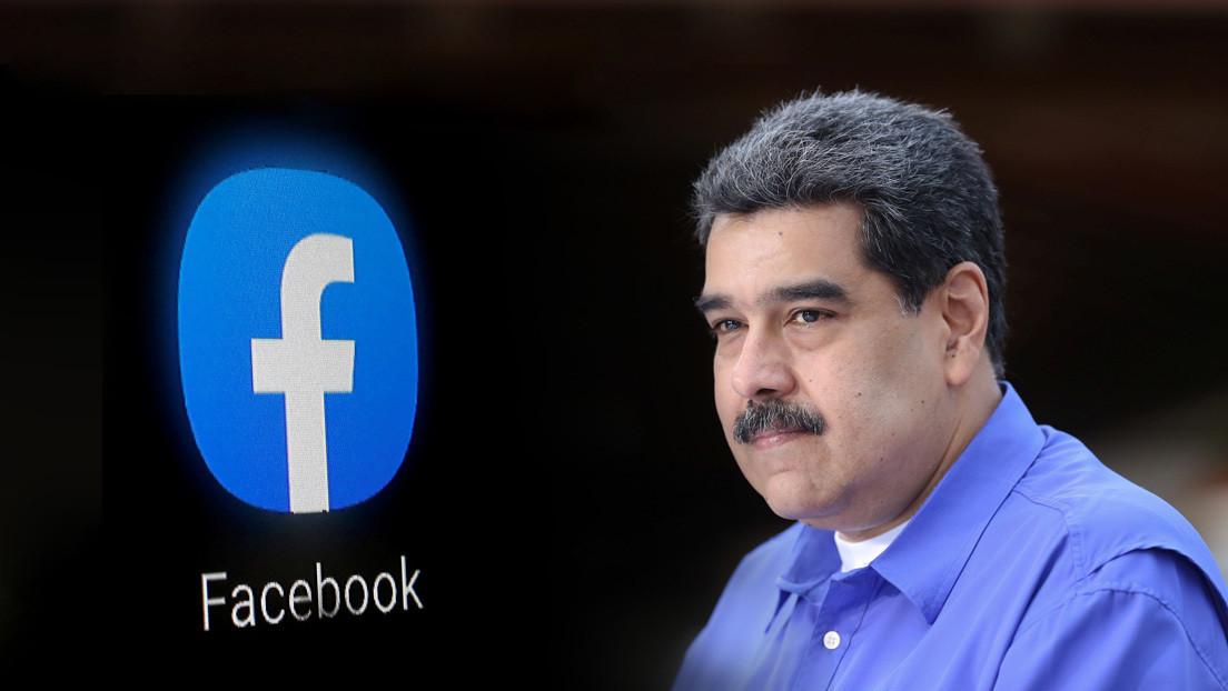 """Maduro denuncia que Facebook eliminó sus publicaciones sobre el fármaco venezolano que anula """"al 100 %"""" el covid-19"""