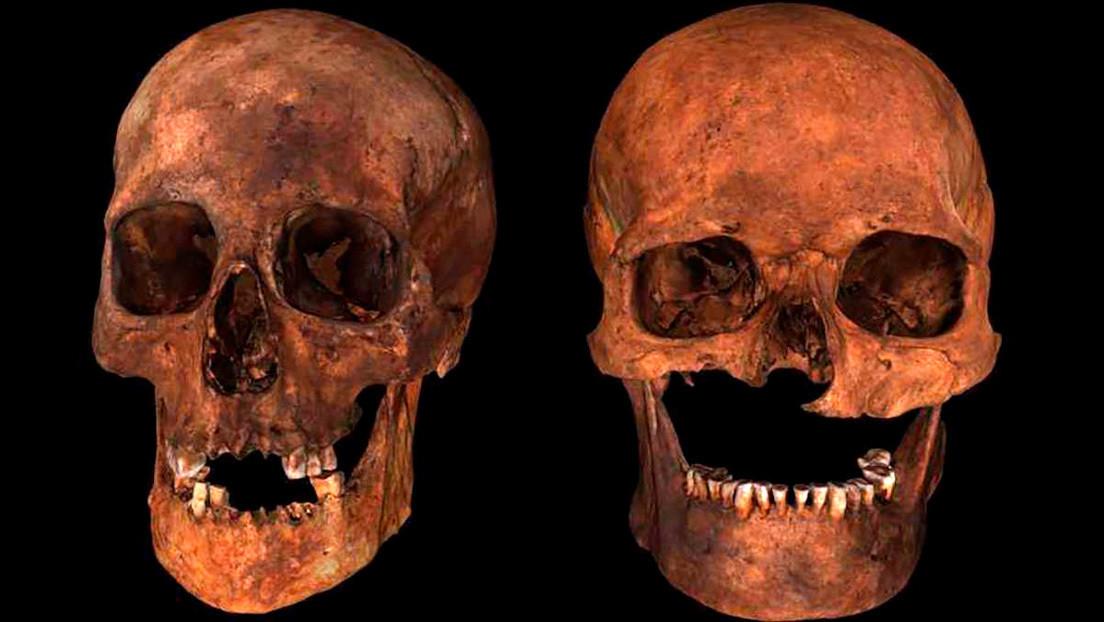 Desentrañan el secreto medieval de un 'jefe de seis cabezas' hallado en Escocia