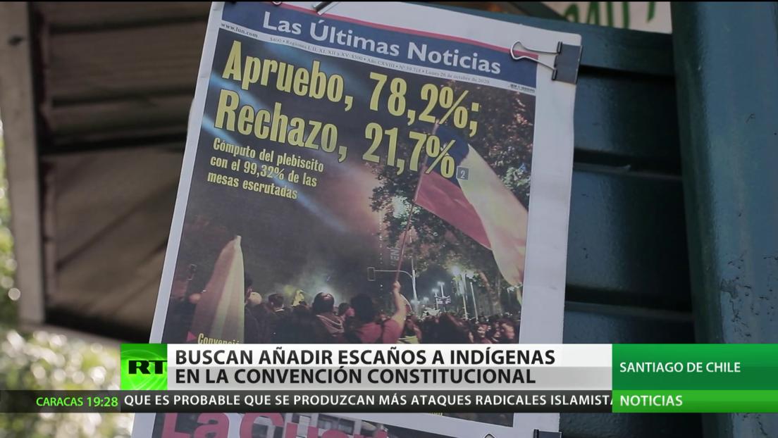 Chile: Proponen añadir 23 escaños indígenas en la Convención Constitucional
