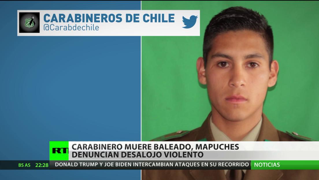 """Chile: Un carabinero muere en una """"emboscada"""" y los mapuches denuncian los desalojos violentos"""