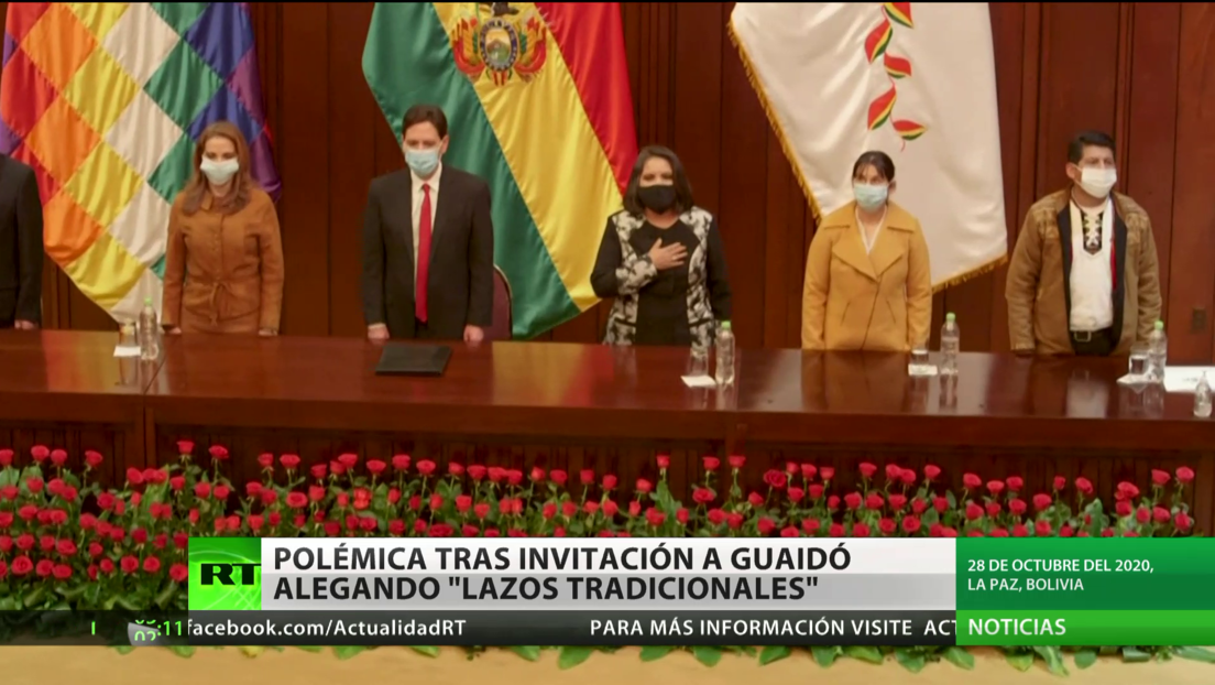 Bolivia: El Gobierno de Áñez invita a Guaidó a la toma de posesión de Arce y desata la polémica