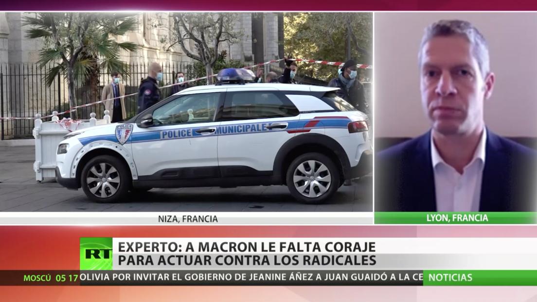 Francia refuerza la seguridad antiterrorista tras el atentado en una iglesia de Niza