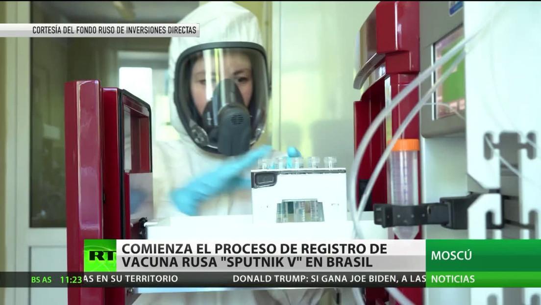 Comienza el proceso de registro de la vacuna rusa Sputnik V en Brasil