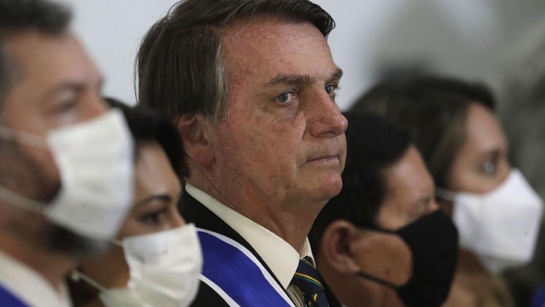 """Bolsonaro afirma que """"la pandemia está llegando a su fin"""" mientras Brasil roza las 160.000 muertes por coronavirus"""