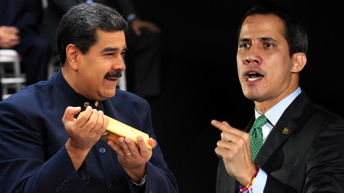 El presidente de Venezuela, Nicolás Maduro, y el diputado opositor, Juan Guaidó.