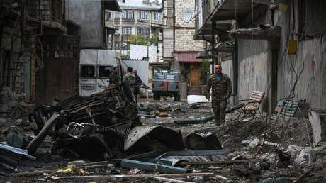 FOTOS: La capital de Nagorno Karabaj tras 9 días de conflicto armado entre Armenia y Azerbaiyán