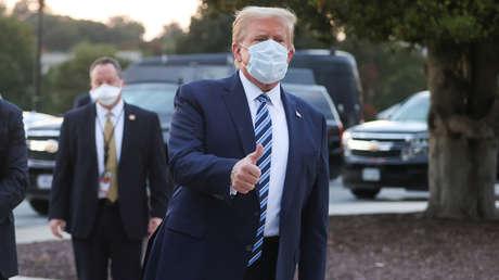 Donald Trump abandona el hospital Walter Reed y regresa a la Casa Blanca, donde continuará su tratamiento contra el covid-19
