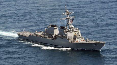 China denuncia que el destructor John McCain de EE.UU. entró en aguas de las islas Paracelso sin su permiso
