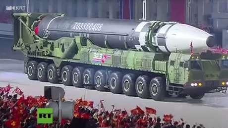 El Pentágono señala que está analizando los datos sobre un nuevo misil balístico intercontinental de Corea del Norte