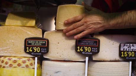 Alerta sanitaria en España tras detectarse listeria en un queso elaborado en Países Bajos