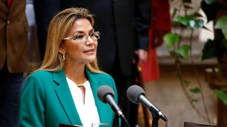 """Áñez felicita a Arce y Choquehuanca y les pide """"gobernar pensando en Bolivia y en la democracia"""""""