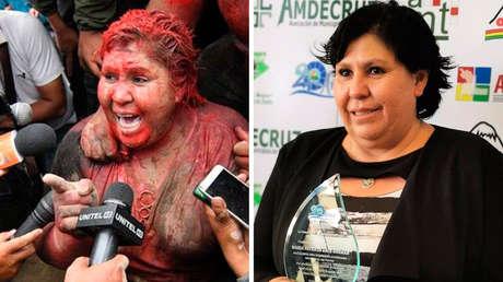 Patricia Arce, la alcaldesa boliviana atacada brutalmente por opositores en 2019, resultó electa como senadora por el partido de Evo Morales
