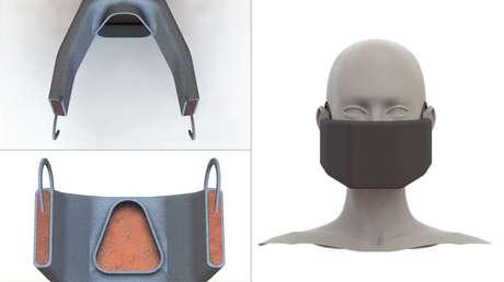Elaboran una máscara 'calentadora' con batería capaz de matar el coronavirus por su temperatura
