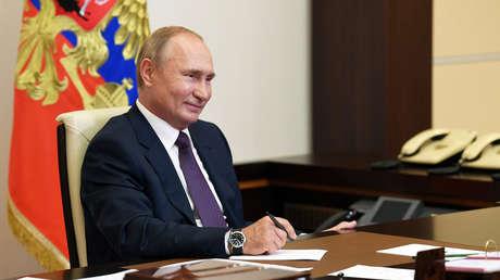 """Putin: """"Rusia está satisfecha con la cooperación con EE.UU. en la lucha contra el terrorismo"""""""