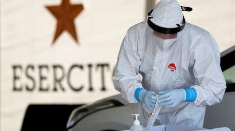 Italia alcanza un récord de 21.994 nuevos casos de covid-19 en un día y 221 muertes, la cifra más alta desde mayo