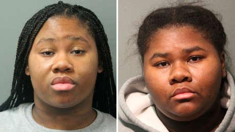 Detienen a dos hermanas en EE.UU. por apuñalar 27 veces a un guardia de seguridad que les pidió que usaran mascarilla