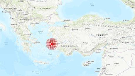 Un fuerte terremoto de 6,9 sacude la costa de Turquía y las islas griegas del Egeo (VIDEOS)