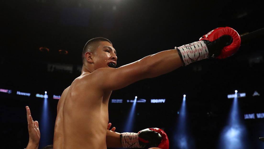 VIDEO: El boxeador mexicano Jaime Munguía estremece a su contrincante con un gancho que le partió el labio