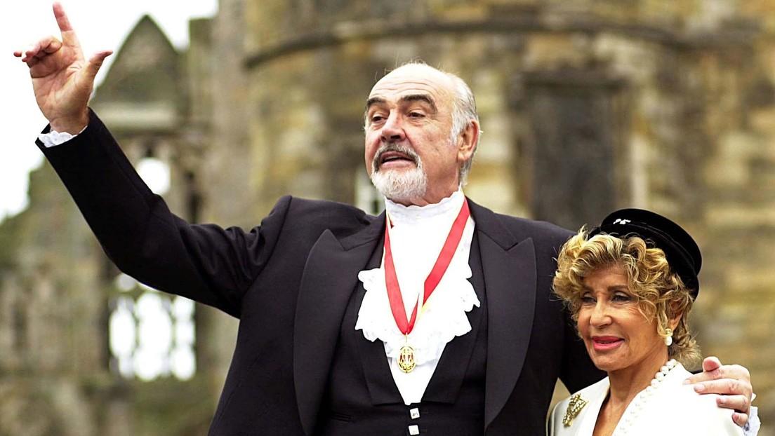 """""""Simplemente, escapó"""": La esposa de Sean Connery cuenta que el actor padecía demencia y que murió en paz"""