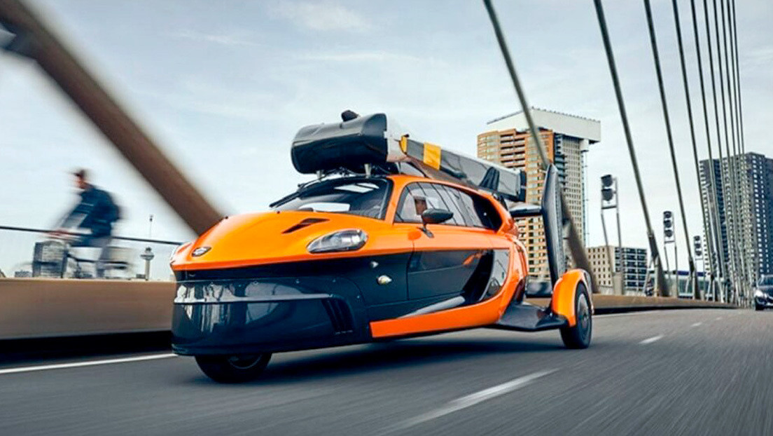 VIDEO: El primer auto volador es homologado para ser conducido en carreteras