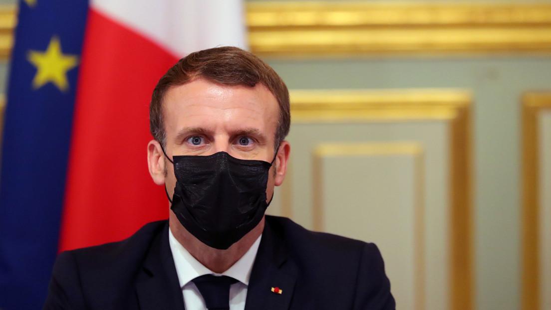 Tras recibir fuertes criticas, Emmanuel Macron explica su punto de vista sobre la publicación de caricaturas de Mahoma