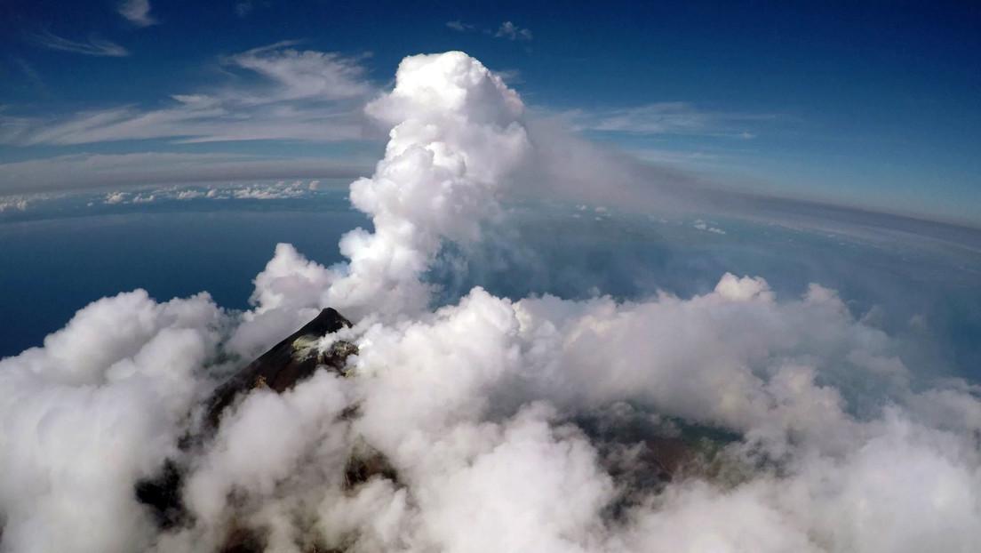 Mandan drones a un volcán para pronosticar erupciones posteriores