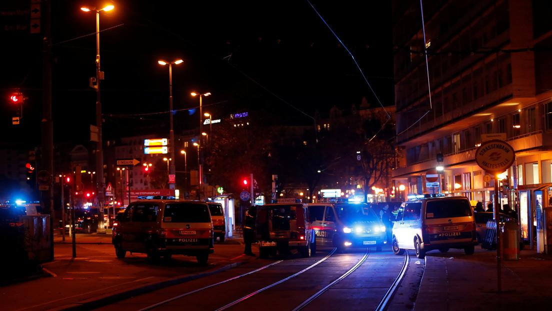 Varios muertos y heridos en un tiroteo cerca de una sinagoga en Viena