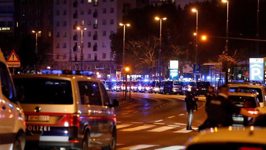 El ministro del Interior de Austria declara los ataques en Viena como un acto terrorista y confirma varios muertos