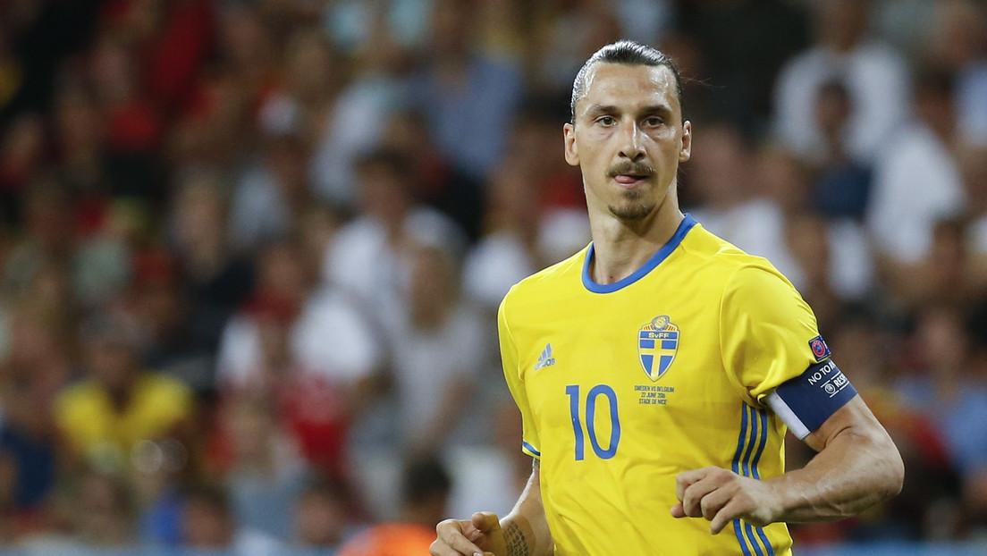 FOTO: Con un intrigante tuit, Zlatan Ibrahimovic insinúa su regreso a la selección de Suecia