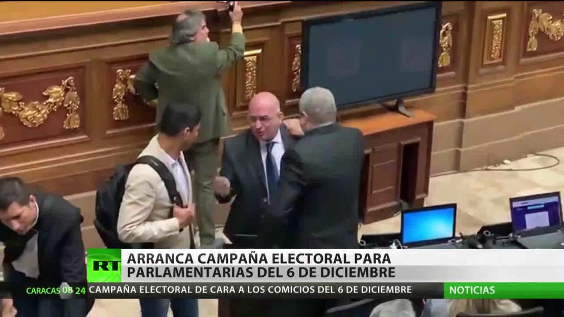 Arranca la campaña electoral para las elecciones parlamentarias de Venezuela