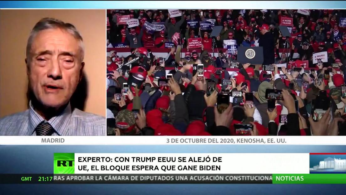 Contexto electoral: protestas contra el racismo, pandemia y retos externos