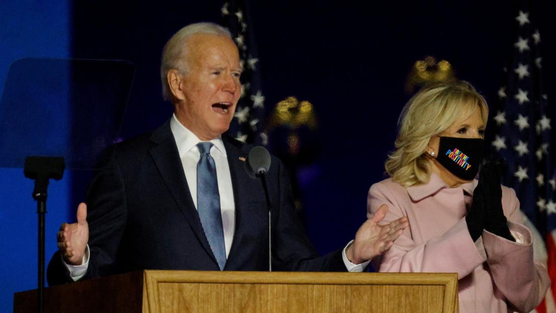 """Joe Biden: """"Creemos que estamos en el camino para ganar estas elecciones"""""""