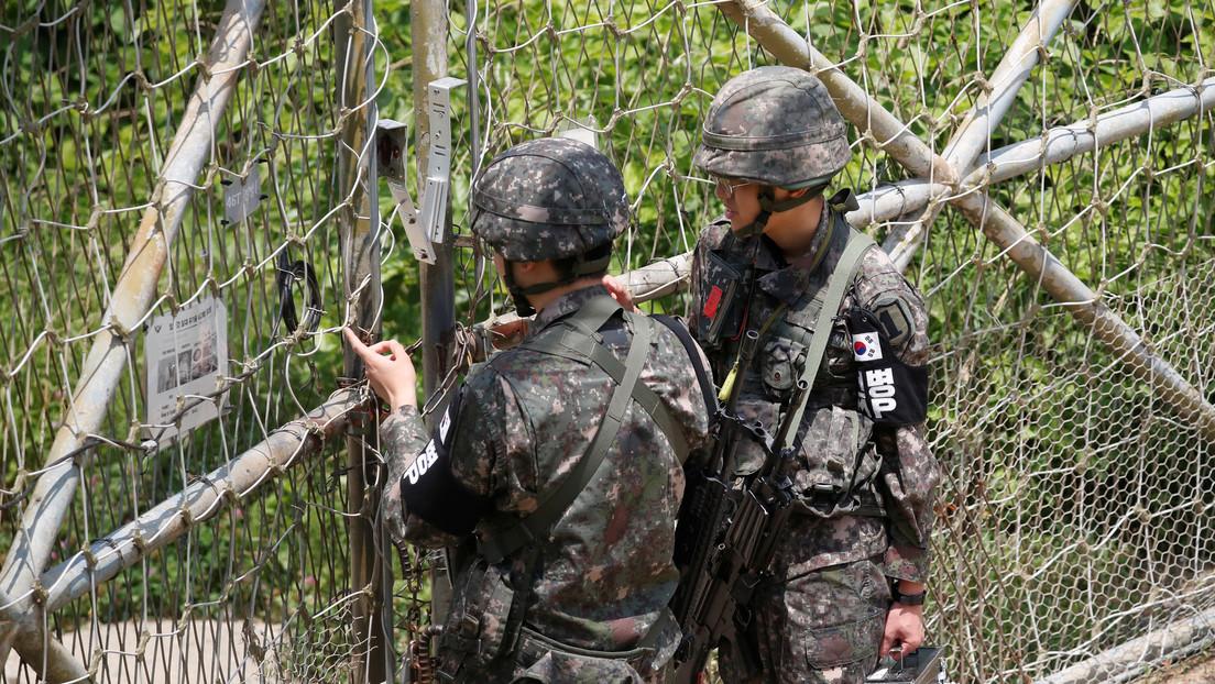 Militares surcoreanos detienen a un posible desertor de Corea del Norte