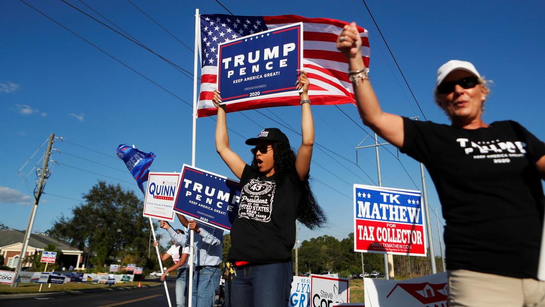 """Trump, sobre las presidenciales: """"En mi opinión, ya hemos ganado"""""""