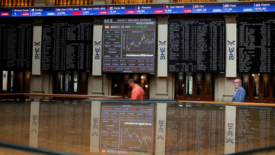 La bolsa española cae más del 2 % en el arranque de la jornada ante la incertidumbre electoral en EE.UU.