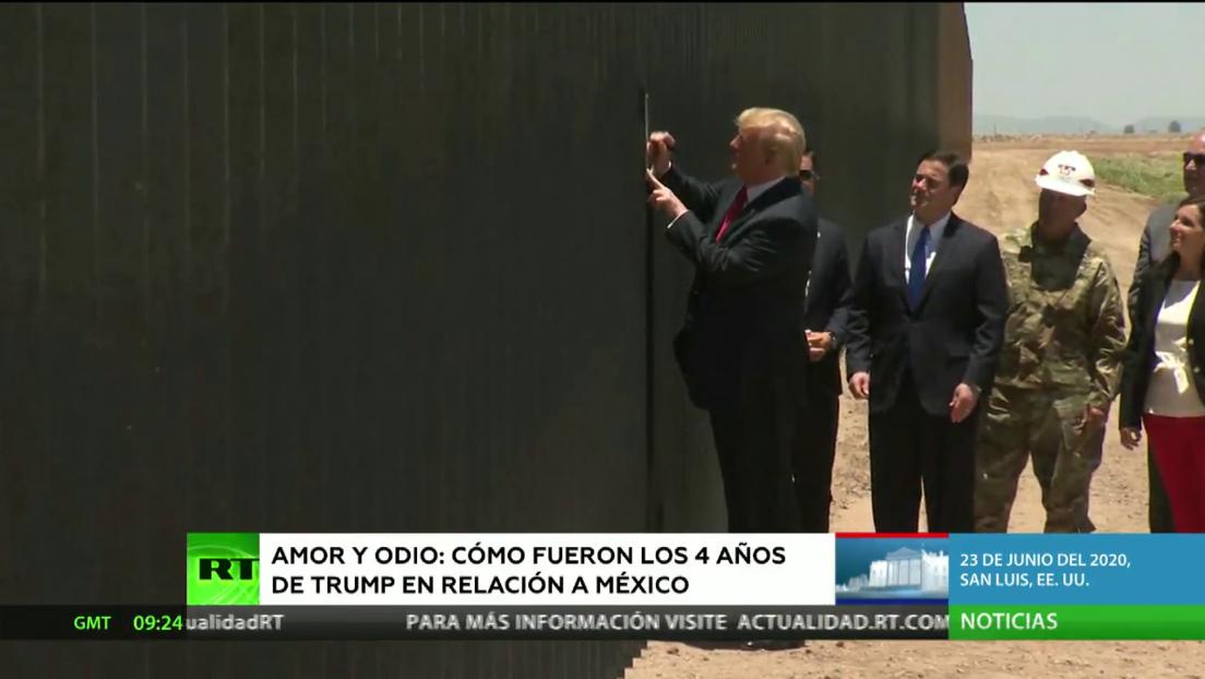 ¿Cómo fueron las relaciones con México durante los 4 años de Donald Trump?