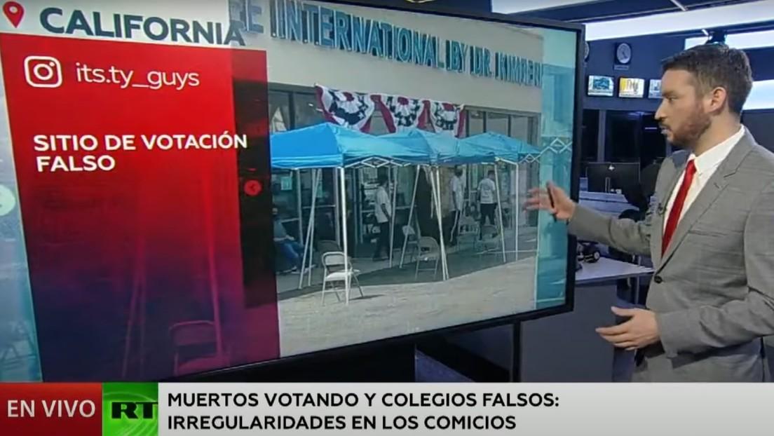 Muertos votando y colegios falsos: los casos polémicos y las irregularidades en los comicios de EE.UU.