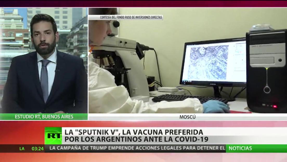 Sputnik V, la vacuna preferida por los argentinos contra el covid-19