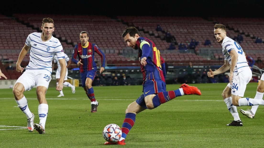 Critican duramente a Messi por no impedir el avance del rival en una jugada en la Champions (VIDEOS)