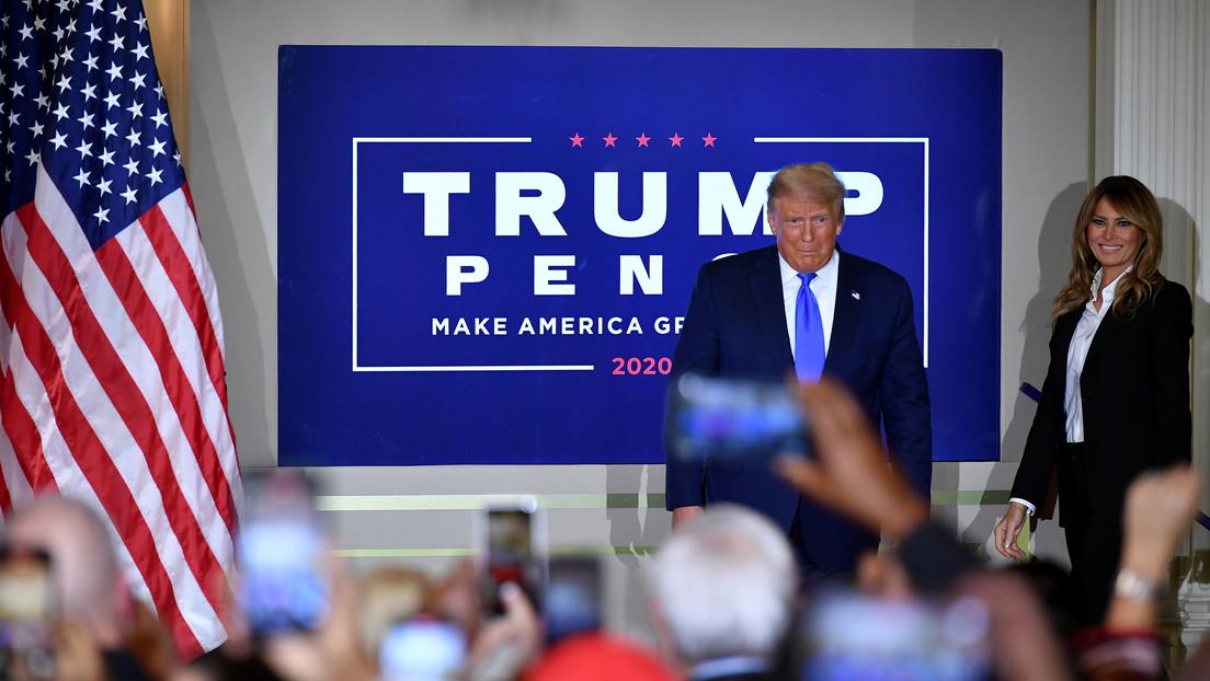 """Asesor de la campaña de Trump declara que """"ya para finales del viernes"""" estará claro que servirá de presidente durante 4 años más"""