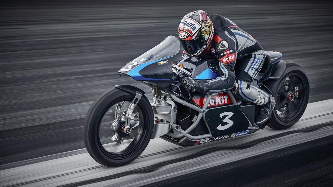 La Voxan Wattman bate 11 récords mundiales de velocidad de motocicletas eléctricas