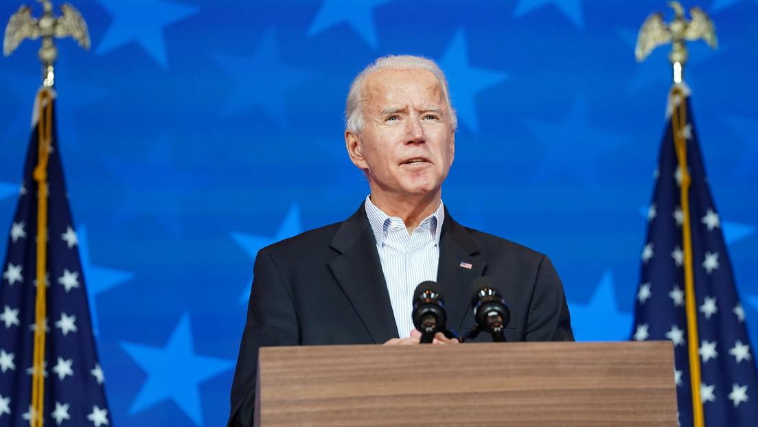 """Biden: """"No tenemos ninguna duda de que cuando el conteo finalice nos declararemos ganadores"""""""