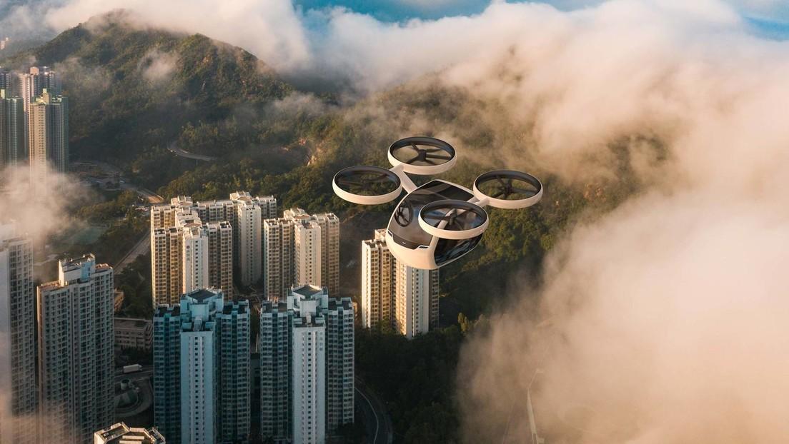 FOTOS: Presentan un dron capaz de llevar hasta cuatro pasajeros en la era post covid-19