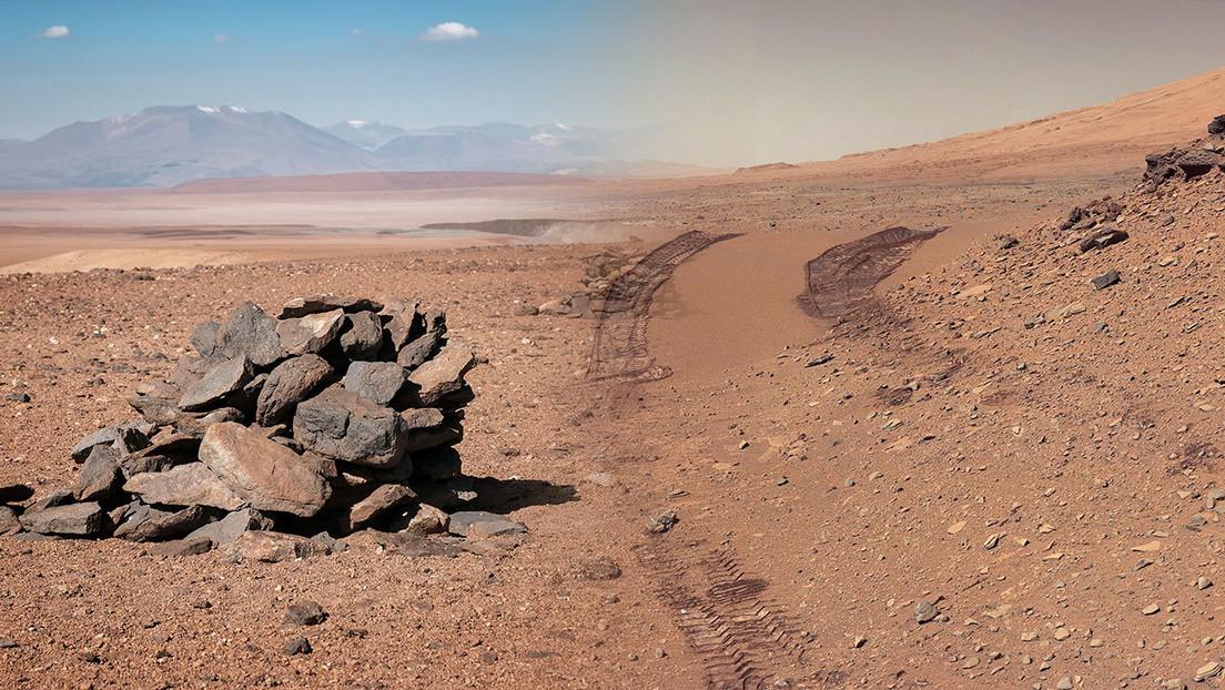 Hallan en Chile pistas para buscar vestigios de vida en Marte