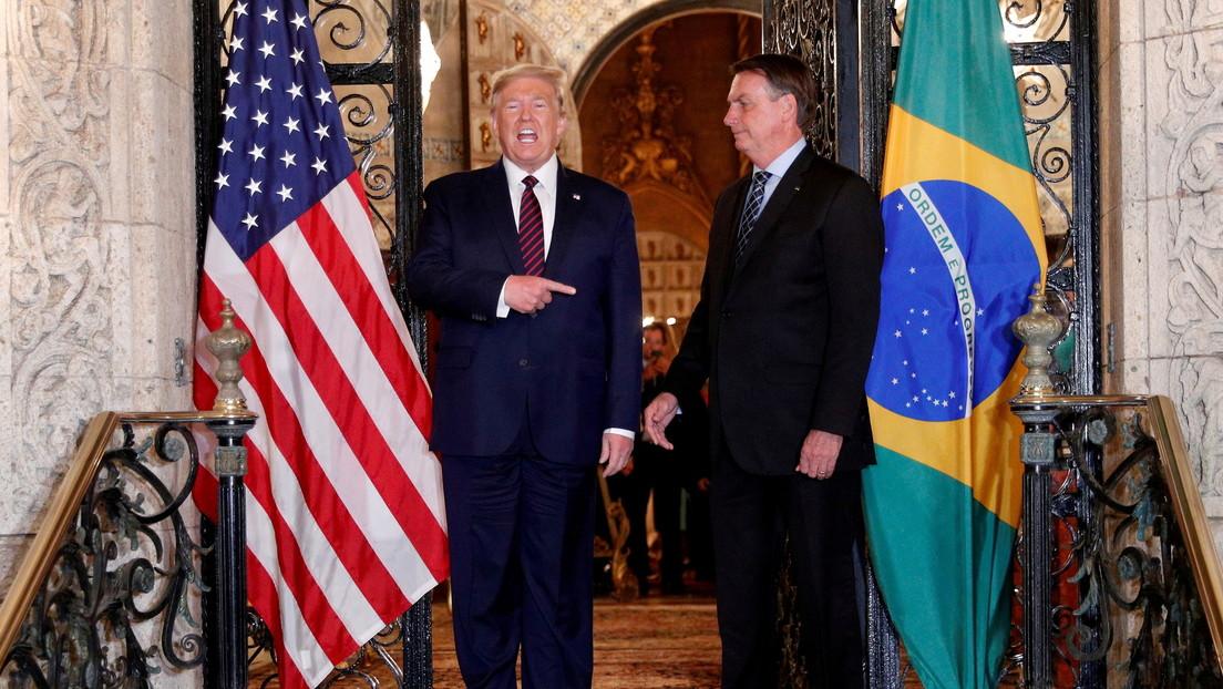 """Bolsonaro: """"Trump no es la persona más importante del mundo, lo es Dios"""""""
